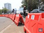 Begini Penampakan Jalan di Sekitar DPR Jelang Demo Hari ini