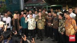 Prabowo Disambut Cak Imin, Pertemuan Dilakukan Tertutup