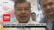 VIDEO: Jelang Purna Tugas Wakil Presiden Jusuf Kalla