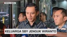 VIDEO: Keluarga SBY Jenguk Wiranto