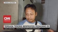 VIDEO: Terduga Teroris Berprofesi Pedagang Es