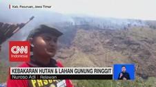 VIDEO: Kebakaran Hutan dan Lahan Gunung Ringgit
