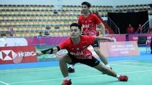 Leo/Daniel Patahkan Rapor Buruk di Kejuaraan Dunia Badminton