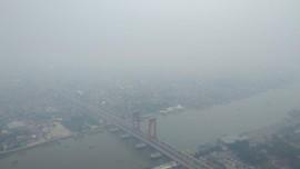 Karhutla, Kualitas Udara Palembang Masih Berbahaya