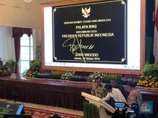 Live! Jokowi Resmikan 'Tol Langit' Demi Internet Ngebut