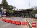 Penutupan Jalan Depan DPR untuk Antisipasi Demo