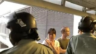 VIDEO: Momen Polisi Hong Kong Diserang Pedemo