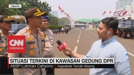 VIDEO: Pengamanan Jelang Pelantikan Presiden dan Wapres
