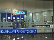 BBCA Menjawab Rumor Stock Split
