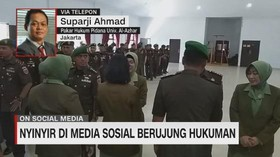 VIDEO: Nyinyir di Media Sosial Berujung Hukuman