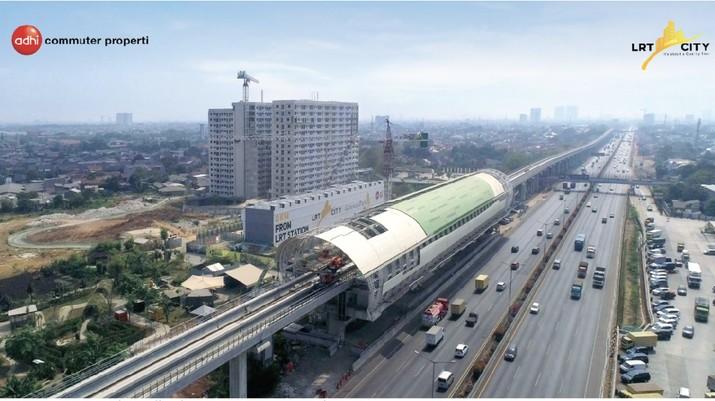 LRT tahap II Cibubur-Sentul-Bogor siap dieksekusi oleh Adhi Karya.