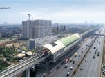 Progres Pembangunan LRT Jabodebek Capai 70,9%