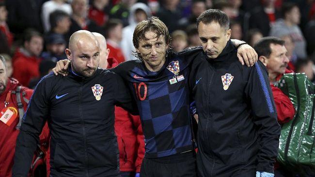 Sinyal Buruk El Clasico untuk Madrid dari Bale dan Modric