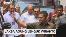 VIDEO: Jaksa Agung Jenguk Wiranto