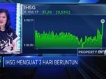 Meski Neraca Dagang Defisit, IHSG Tetap Positif