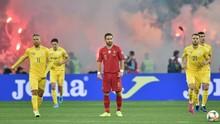 Ronaldo Cetak Gol, Portugal Kalah 1-2 dari Ukraina