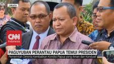 VIDEO: Paguyuban Perantau Papua Temui Presiden