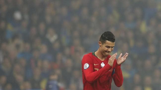 FOTO: Malam Bersejarah Ronaldo Jadi CR700