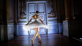FOTO: Kala Tari Balet 'Dipamerkan' di Prancis