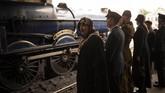 Yang baru pada tahun ini adalah pameran 'D-Day' di Stasiun Pickering, yang sekaligus memperingati ulang tahun ke-100 ketegangan pertempuran di Pantai Normandia itu. (AFP/ OLI Scarff)
