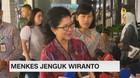VIDEO: Pengamanan Ketat Menkes Saat Jenguk Wiranto