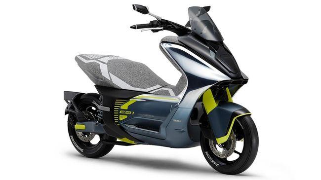 Yamaha Bocorkan Dua Skuter Listrik