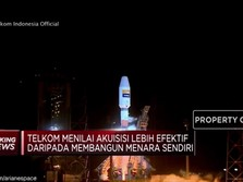 Telkom Resmi Akuisisi 2.100 Menara Indosat