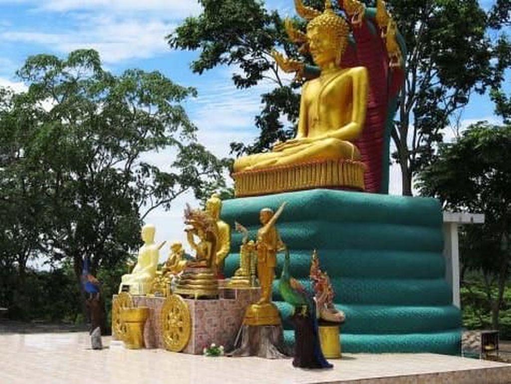 Foto: Kawasan Alien di Bukit Buddha