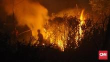 Kebakaran Lahan HGU di Gunung Tambora Dituding Ulah Warga