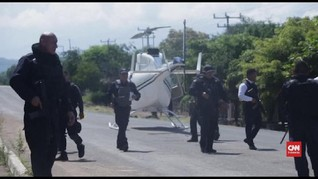 VIDEO: 13 Anggota Polisi Meksiko Tewas Disergap Bandit