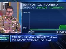 Ini Risiko Investor Jika Masuk Ke Saham Bank Artos
