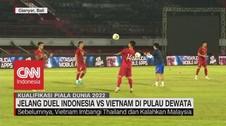 VIDEO: Jelang Duel Indonesia Vs Vietnam di Pulau Dewata