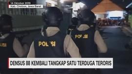 VIDEO: Densus 88 Kembali Tangkap Terduga Teroris di Cirebon