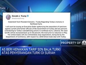 Serangan Turki di Suriah Berujung Sanksi AS