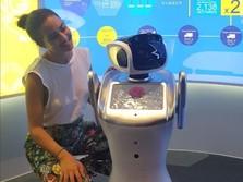 Nyata! Robot di Bandara Soekarno-Hatta Gantikan Manusia