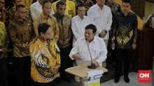 Ditemui Prabowo, Airlangga Serahkan Posisi Gerindra ke Jokowi