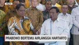 VIDEO: Prabowo Bertemu Airlangga Hartanto