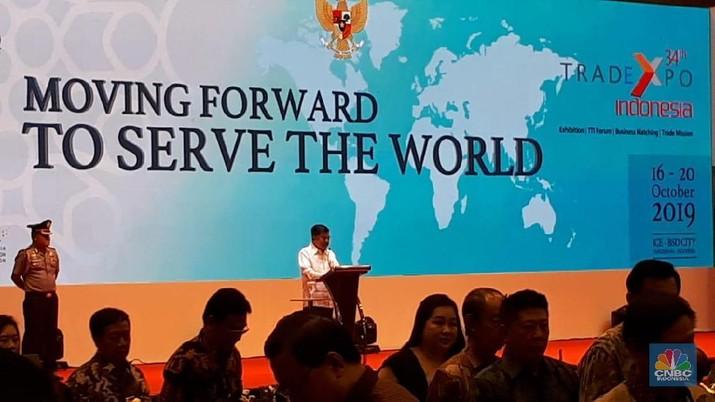 Pemerintah secara resmi mengambil keputusan untuk menunda pelaksanaan Trade Expo Indonesia (TEI)