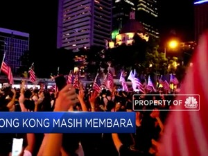 China Peringatkan As Jangan Ikut Campur Di Hong Kong
