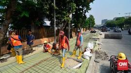 Pemprov DKI Siapkan 4 Desain TrotoarBaru, Belum Ada Buat PKL