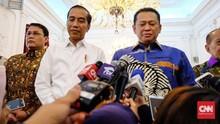 Ditanya UU KPK, Jokowi Bungkam, Pimpinan MPR Pasang Badan