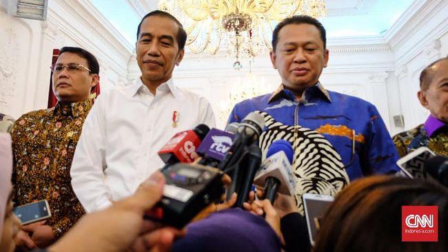 Bamsoet: Ada Kemungkinan Reshuffle Kabinet dalam 6 Bulan
