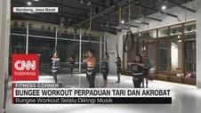 VIDEO: Bungee Workout Perpaduan Tari dan Akrobat