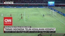 VIDEO: Timnas Indonesia Telan Kekalahan Keempat
