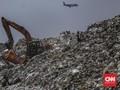 FOTO: Gunungan Sampah di TPA Rawa Kucing Tangerang