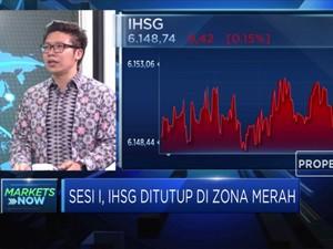 3 hari Menghijau, IHSG Terkoreksi Tipis 0,15%