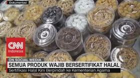 VIDEO: Sertifikasi Halal Kini Berpindah ke Kemenag