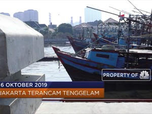 Jakarta Terancam Tenggelam Hingga IMF Pangkas Ekonomi Global