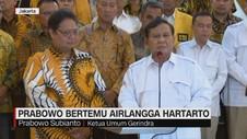 VIDEO: Prabowo Temui Airlangga Hartarto di DPP Golkar