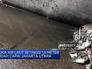 Pemenuhan Air Bersih Picu Penurunan Muka Tanah DKI Jakarta